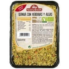 Quinoa con Verduras y Algas 300gr Natursoy