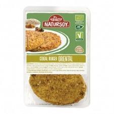 Cereal Burguer oriental 2 unidades 160gr Natursoy
