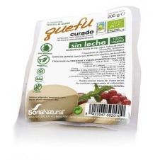 Queso vegano en bloque Quefu curado sin leche Soria Natural
