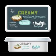 Queso crema vegano sabor pepino y eneldo 200gr Violife