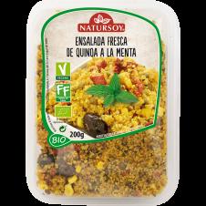 Ensalada fresca de Quinoa a la Menta 200gr Natursoy