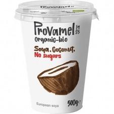 Yogur de Soja sabor Coco sin Azúcar 500gr Santiveri