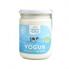 Yogur ecológico de Vaca Natural 420gr El Cantero de Letur