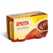 Postre de chocolate bajo en proteinas 2X120gr Aproten