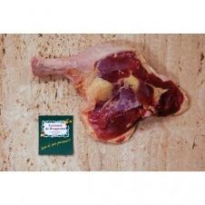 Muslo de pato bio con hueso Ecoviand