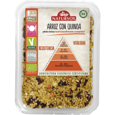 Arroz con Quinoa 230gr Bio Vegano Natursoy