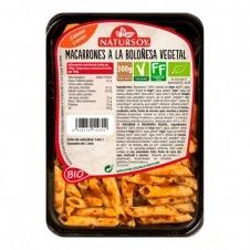 Macarrones a la Boloñesa vegetal 300gr Natursoy