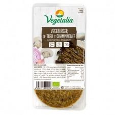 Vegeburguer de Tofu y Champiñones 160gr Vegetalia