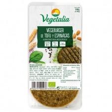 Vegeburger de Tofu y Espinacas 160gr Vegetalia