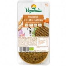 Vegeburguer de Seitán y Zanahoria 160gr Vegetalia