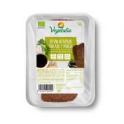 Seitan rebozado con ajo y perejil Bio 150gr Vegetalia