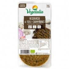 Vegeburguer de Tofu y Champiñones 320gr Vegetalia