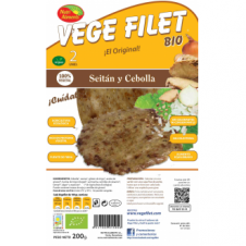 Vege Filet Seitán y Cebolla 200gr Nutrialiments