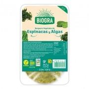 Hamburguesa Tofu Algas Espinacas Bio 160gr Biogra