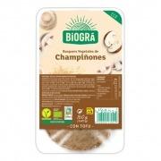 Hamburguesa Tofu Champiñones 160gr Biogra