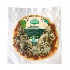 Bio Pizza de Espinacas, Pasas y Piñones 300gr Biográ