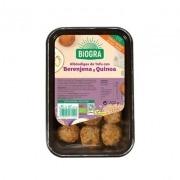 Albóndigas de tofu Berenjena y Quinoa Biogra