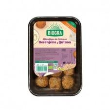 Albóndigas de Tofu, Berenjena y Quinoa 205gr Eco Biográ