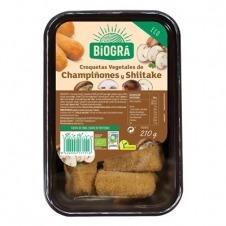 Croquetas de Tofu con Setas shiitake 210gr Bio Biográ