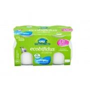Yogur de cabra natural Ecobifidus desnatado Bio 2x125gr El Cantero de Letur