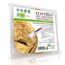 Tortilla de patatas vegana sin Cebolla 250gr Soria Natural