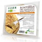 Tortilla patatas vegana con cebolla 250gr Soria Natural