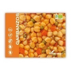 Garbanzos estofados con verduras 300gr Soria Natural