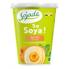 Yogur de Soja sabor Albaricoque So Soja! 400gr Sojade