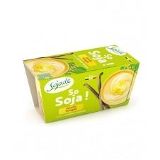 Yogur de Soja sabor Vainilla So Soja! 2x100gr Sojade
