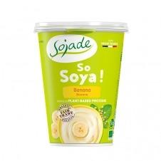 Yogur de Soja sabor Plátano So Soja! 400gr Sojade