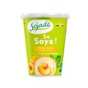Yogur soja Melocoton y Mango Bio 400gr Sojade