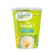 Yogur Soja Piña 400gr Bio Sojade