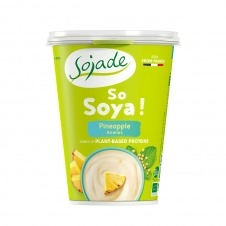 Yogur de Soja sabor Piña So Soja! 400gr Sojade