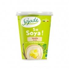 Yogur de Soja sabor Vainilla So Soja! 400gr Sojade