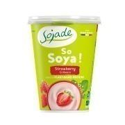 Yogur Soja Fresa 400G Sojade