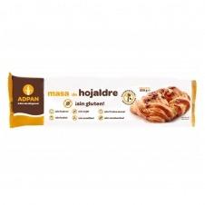 Masa de Hojaldre sin Gluten 250gr Adpan