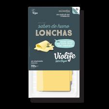 Queso vegano en Lonchas sabor queso ahumado 200gr Violife