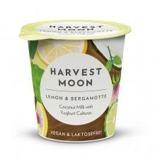 Yogur vegano de Coco sabor Limón y Bergamota 125gr Harvest Moon
