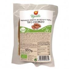 Preparado vegetal tipo Chorizo bio 200gr Vegetalia