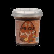 Tarrina de huevo y aceite de Chía Omega + sabor cacao y naranja 120gr PR-OU