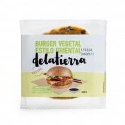 Burger vegetal estilo oriental vegan 160gr Delatierra