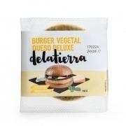Burger vegetal queso deluxe 160gr Delatierra