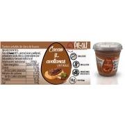 Untable de clara de huevo sabor Cacao y Avellanas sin gluten 110gr PR-OU