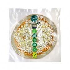 Pizza fresca vegana artesana estilo 3 Quesos 310gr Vegandeli
