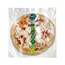 Pizza fresca vegana artesana estilo chorizo con queso azul 310gr Vegandeli