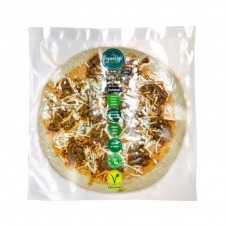 Pizza fresca vegana artesana estilo Boloñesa 400gr Vegandeli