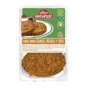 Cereal burger con Quinoa, Masala y Dátil Bio Vegan 2x100gr Natursoy