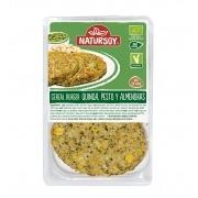 Cereal burger con Quinoa, Pesto y Almendras Bio Vegan 2x100gr Natursoy