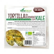 Tortilla vegana de verduras con Kale 250gr Soria Natural