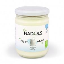 Yogur ecológico de Vaca Natural 420gr Nadols